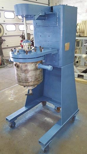 Used 5 GALLON BLAW KNOX REACTOR – T-316 S/S – 150/FV/150 PSI (#9025)