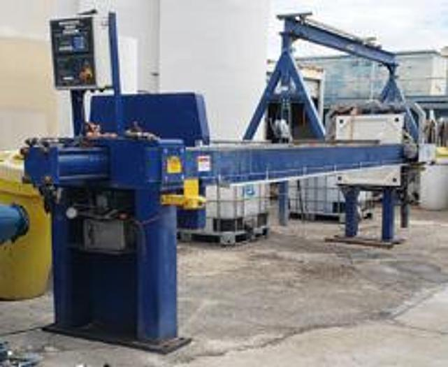 Used FP-53: Used 43 cu ft Pacific brand Filter Press