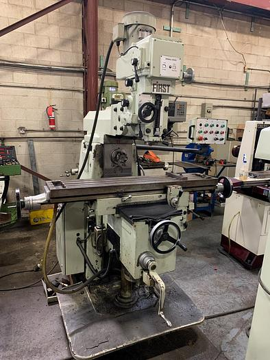 """Used 10"""" X 51"""", FIRST,  LC-20VHS, UNIVERSAL MILLING MACHINE"""