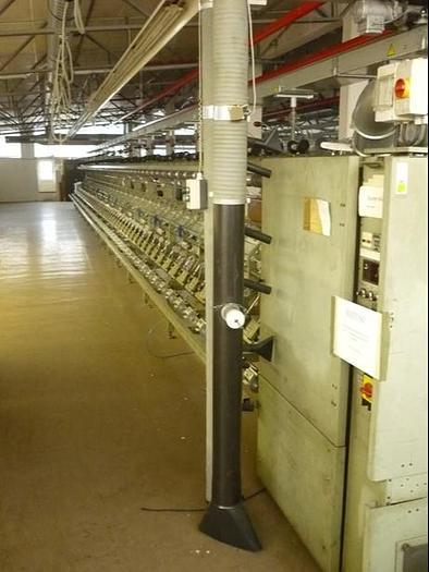 Effektzwirnmaschine für Glasfaser SAURER ALLMA  ESPF 60 Spindeln