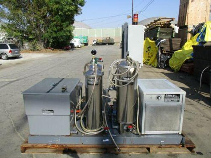 EBBCO EDM PACKAGE FILTRATION UNIT W/ OZONE GENERATION MODULE AND PACKAGE CHILLER