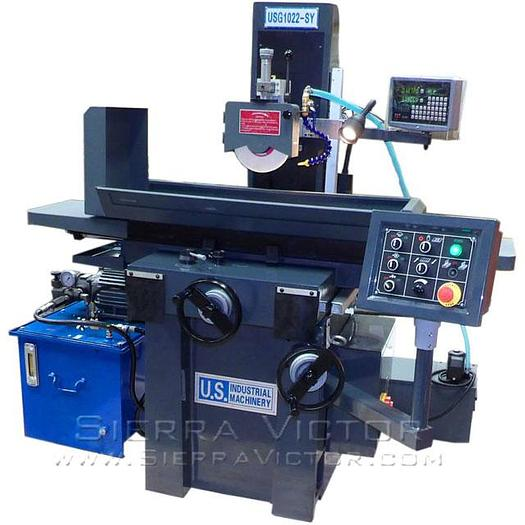 U.S. INDUSTRIAL 2-Axis Automatic Toolroom Surface Grinder USG1022-SY