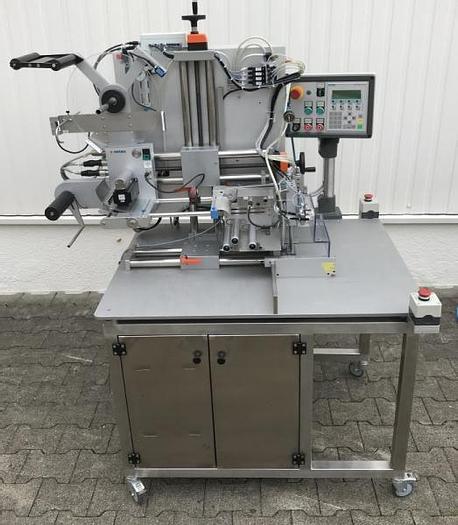 Used M 12988 D - Labeller HERMA 414/H300 SL - Semi-Auto