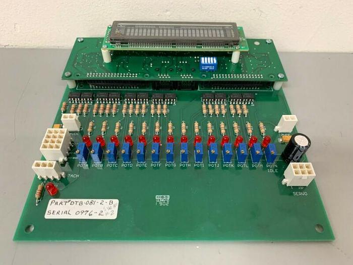 Used Datran DTB-081-2-B Servo Drive Board