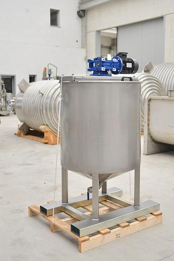 Miscelatore liquidi COPRINOX in acciaio inox da 600 Litri totali