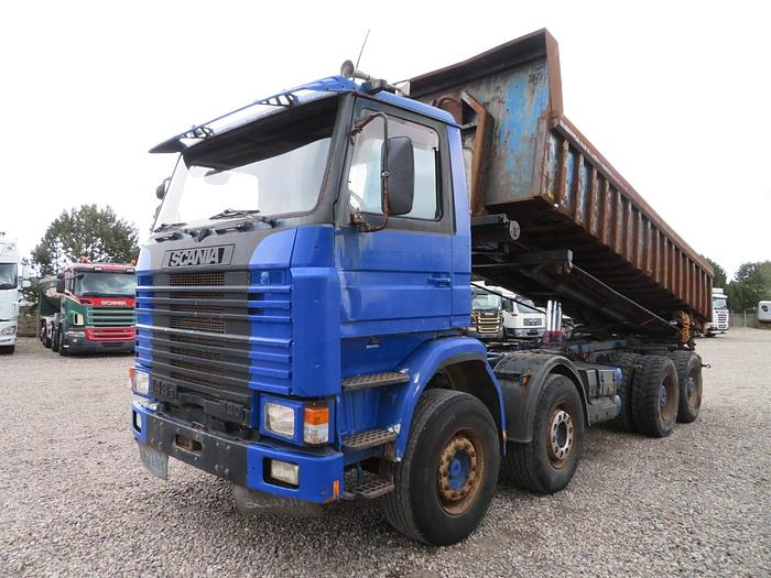 God Scania 143 420 8x4 Hejs