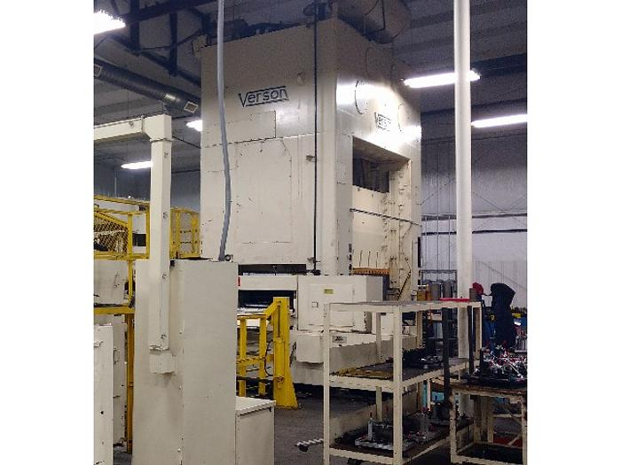 "600 ton Verson 120""x72"" Used Stamping Press"