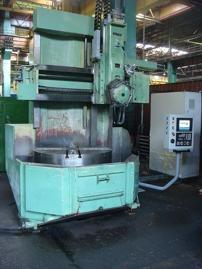 CNC Vertical Turning Lathe SKJ 12 with turret head