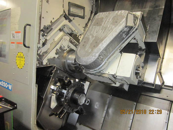 OKUMA MAC TURN 250 Multi axis turning center 2005