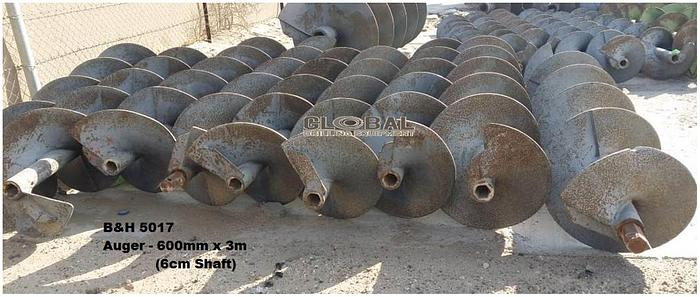 """Used Item 5017 : 24""""(600mm) Auger"""
