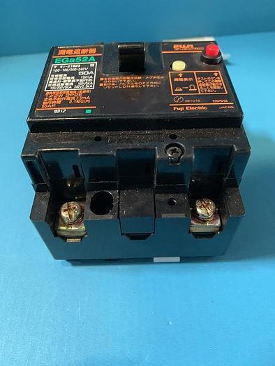 Used fuji electric earth leakage breaker ega52a