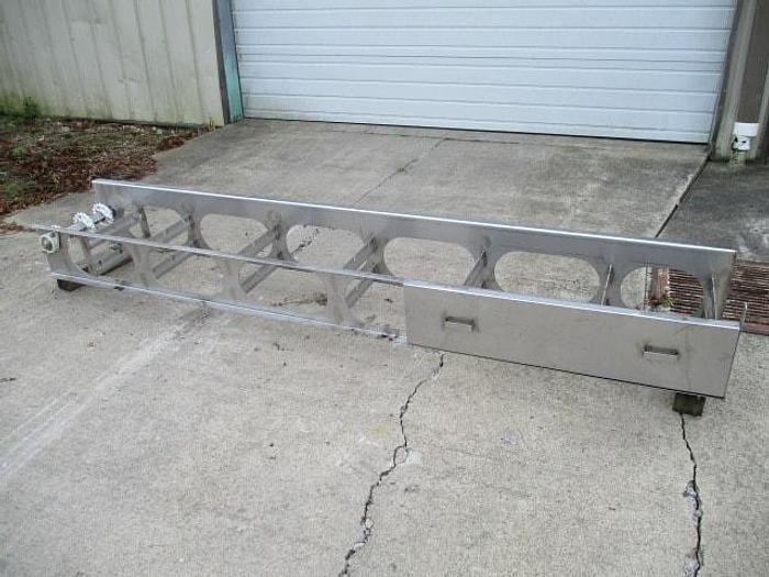 "Used Conveyor; 14""Wx9' 6""L"