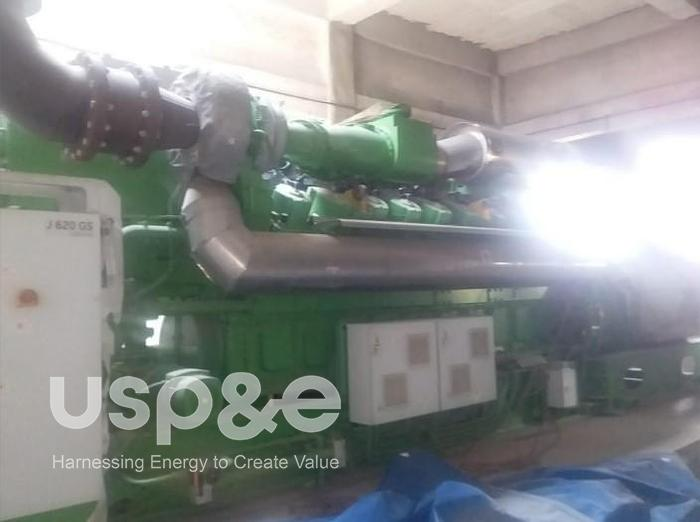 Used 2.2 MW 2012 New Jenbacher JMS620GS-SL Natural Gas Generator Sets
