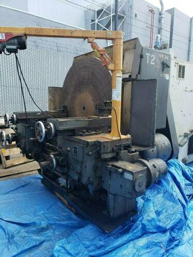 "Used 60"", Used Lodge & Shipley Right Angle T Lathe With Dual Carraige."
