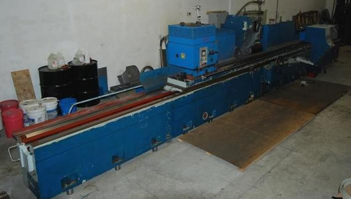 """Used 25"""" X 164"""", TOS, BUC63/4000, 1997, HEAVY CAPACITY (6,600) LBS., UNIVERSAL CYLINDRICAL GRINDER"""