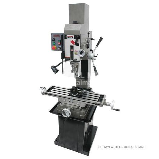 JET JMD-45VSPFT Variable Speed Geared Head Square Column Mill/Drill with Power Downfeed 351051