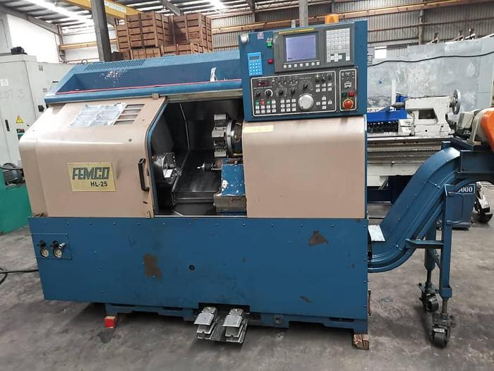 Used 2005 HL25 CNC TURNING LATHE MACHINE