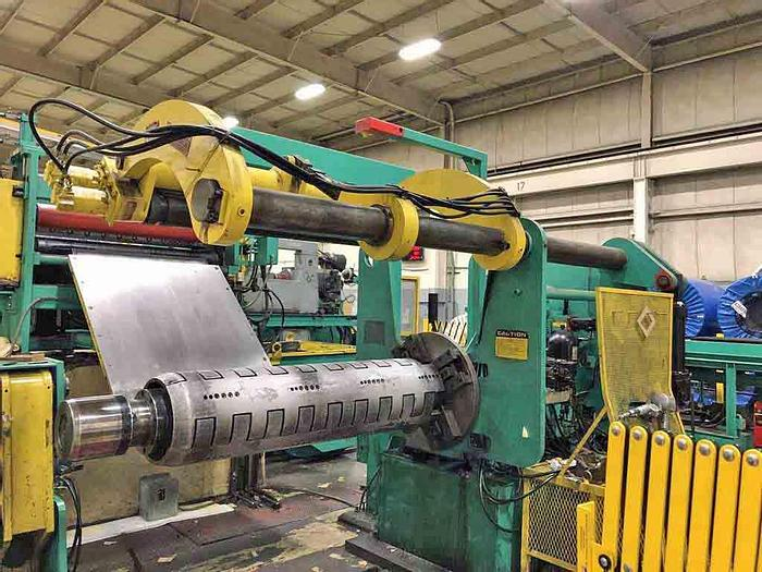 """Used 60"""" Stamco Slitting Line for Steel and Aluminum: S-297"""