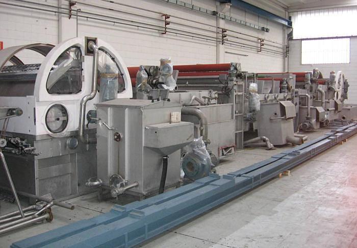 Used OPEN-WIDTH WASHING MACHINES ARIOLI