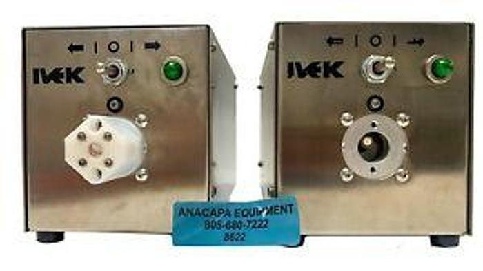 Used IVEK 520205-11A Fluid Circulation Liquid Metering System Lot of 2 (8622)W
