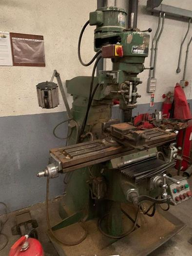 Microcut 1 1/2 Manual Turret Milling Machine
