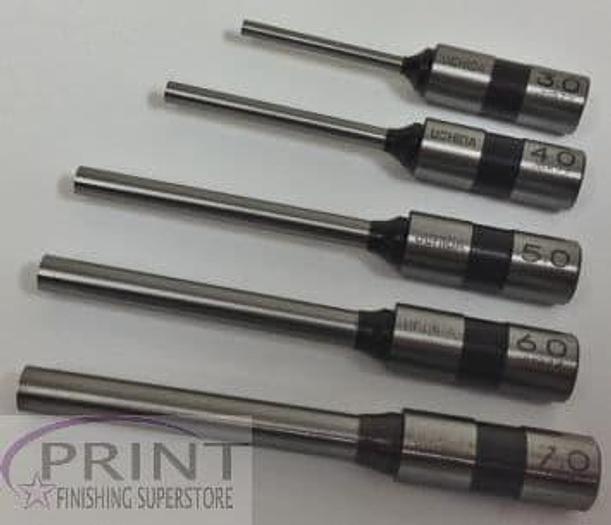 Standard Fitting Quality Paper Drill Bits - Uchida, Morgana, Nagel, Citoborma 4mm Standard Fitting Drill Bit