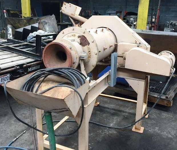 "16"" Hazen Research Rod Mill 3 HP"