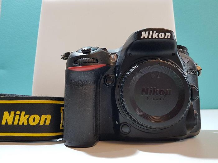 Gebraucht Nikon D7200 Digitalkamera