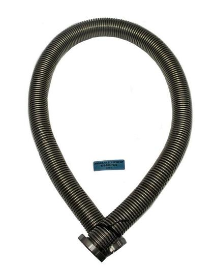 Used Corrugated Bellows Flex Hose Tubing KF50 60 Inch Stainless Steel (8191)W