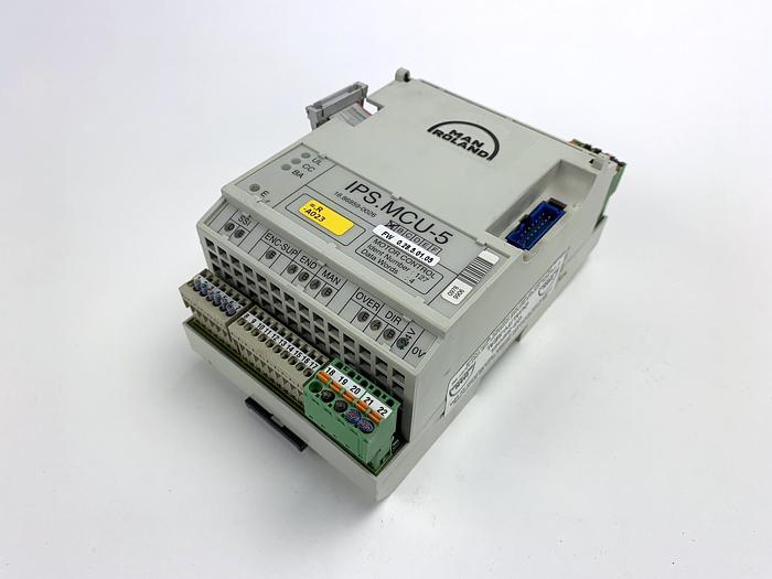Used MANROLAND IPS.MCU-5 Motor Control Module