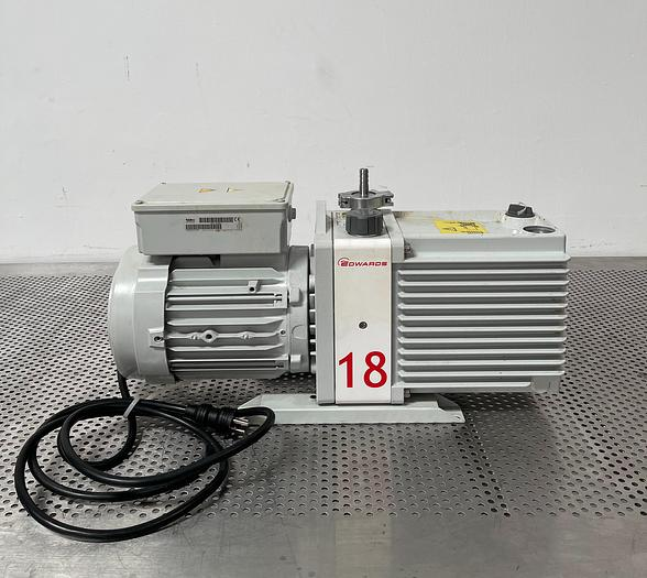 Used Edwards 18 E2M18 Vacuum Pump 110/240V