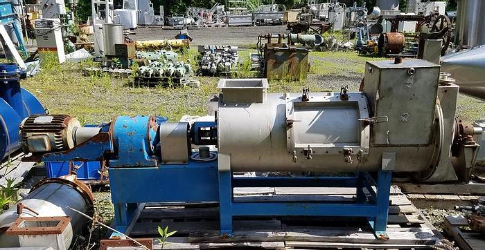 Used 10 CU. FT. CONTINUOUS PLOW MIXER – S/S (#9453)