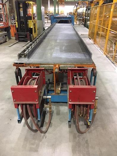 Used Con-Tek 1+1 30FT Polyurethane Panel Press: RF-205