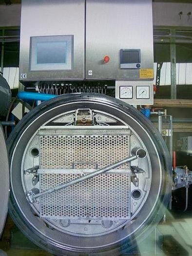 Gebraucht Vollwasser-Rotationsautoklav mit Dampferz.
