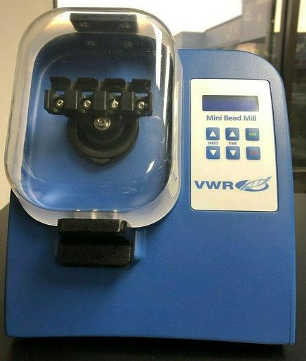 Used VWR 25-020 Mini Bead Mill 4 Homogenizer