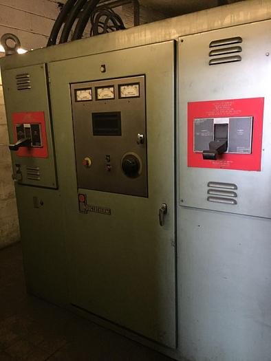 Used INDUCTOTHERM INDUCTION MELTING SYSTEM - 15 MT