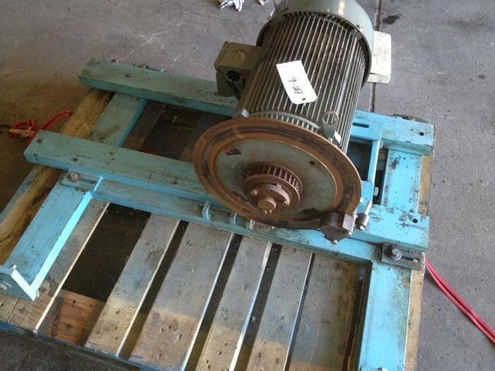 Braun Ironer Drive Motor Assembly