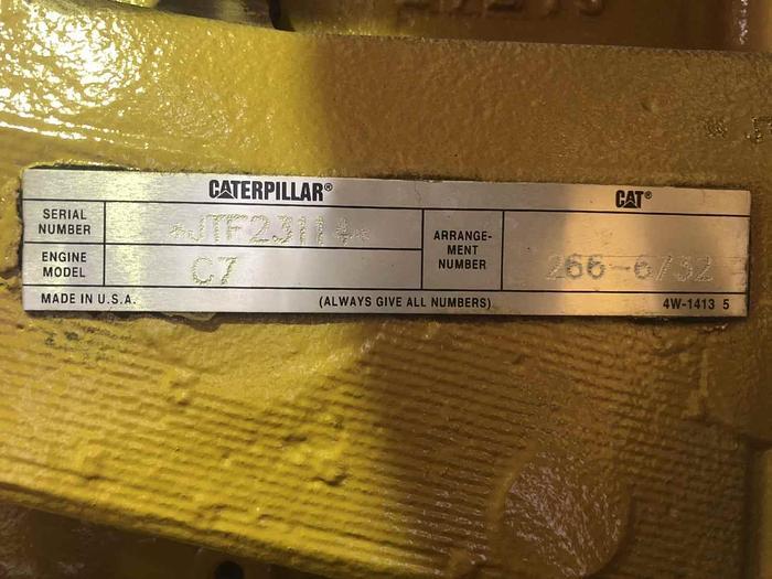 Caterpillar C7 Brand New engines