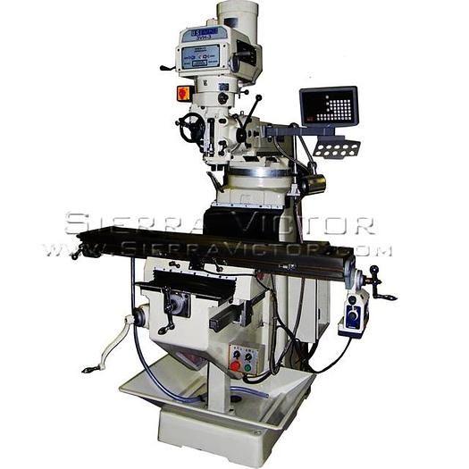 U.S. INDUSTRIAL Heavy Duty Manual Variable Speed Milling Machine Package 3VH-3-KIT