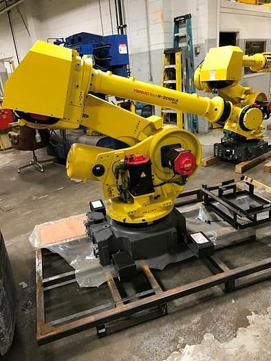 FANUC R2000iA/125L 6 AXIS CNC ROBOTS WITH RJ3iB CONTROLLERS