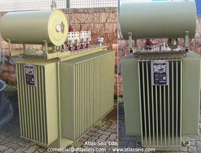 Strömberg Oil-type Transformer KTMU 24 NA 630 kVA / 15000 V to 400 V / 50 Hz