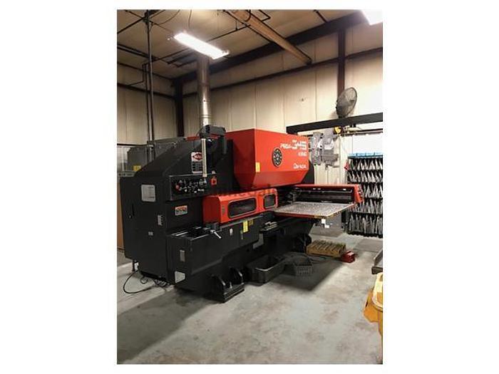 1996 33 Ton Amada Pega 345 King CNC Turret Punch