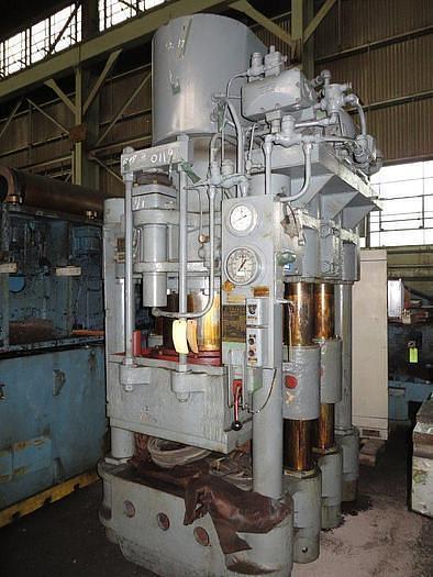 Used 900 Ton Birdsboro Hydraulic Press
