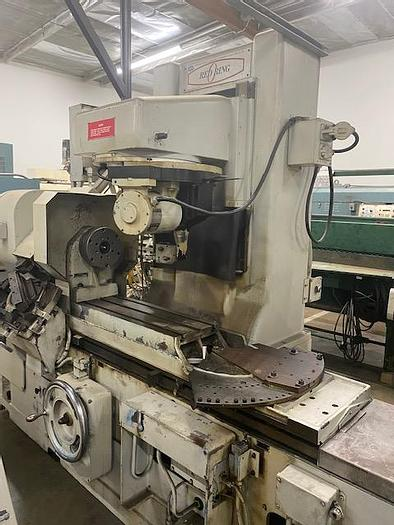 """Used National Broach Model SGL """"Red Ring"""" CNC Gear Grinder"""