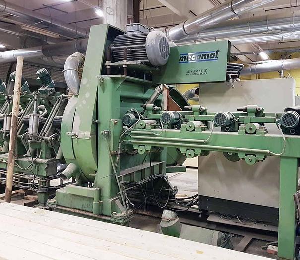 Log Rounding machine Mecamat Finland