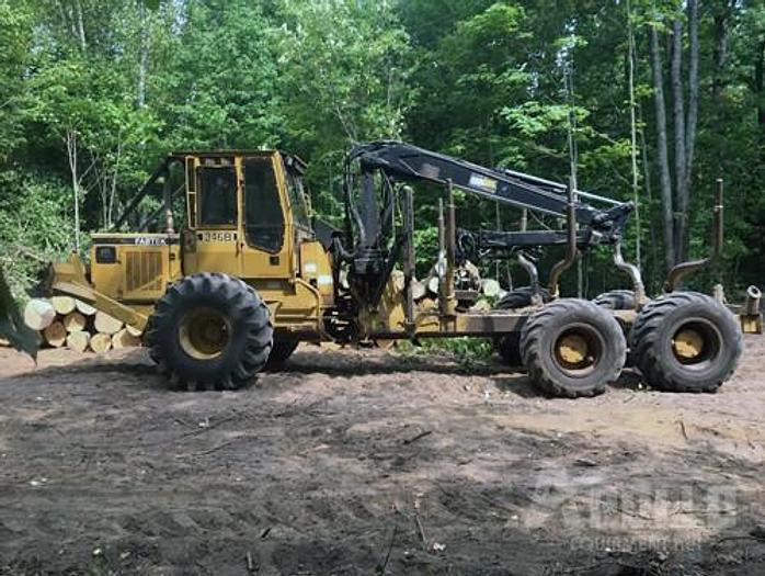 Used 2003 Fabtek 346B Forwarder