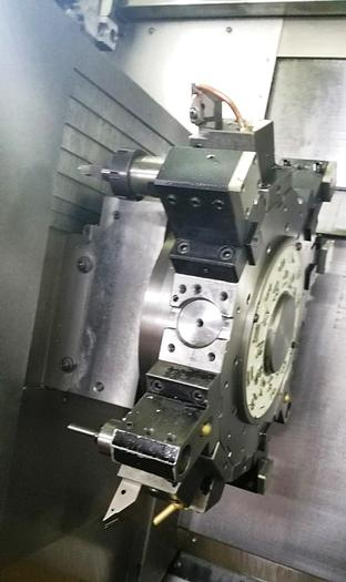 2014 NAKAMURA TOME WY-100 CNC TRUNING CENT. WITH Y AXIS, DUAL SPINDLE, DUAL TURRETS