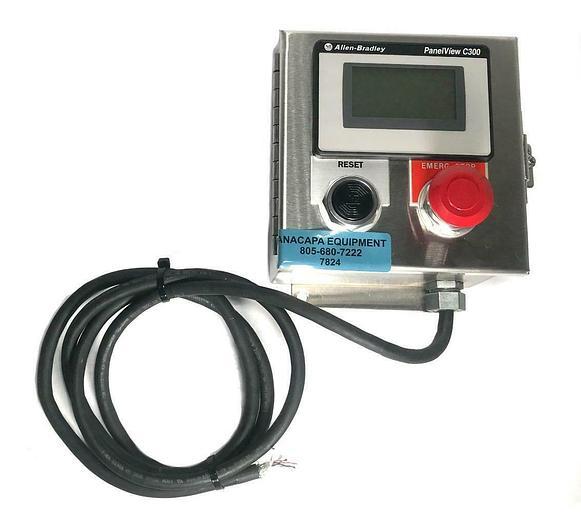 Used Allen Bradley 2711C-T3M 24 VDC PanelView C300 Series w/ Enclosure USED (7824) R