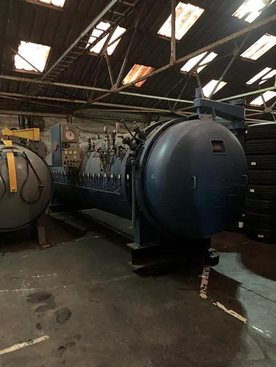 Used 1986 IROP Electrically heated autoclave