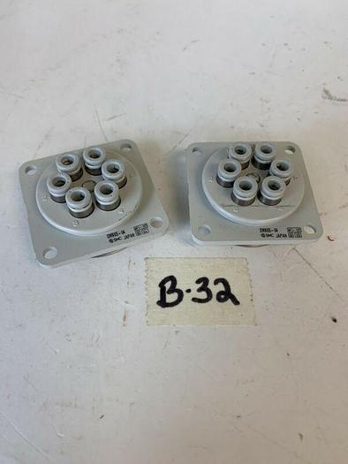 Used Lot of 2 SMC DMK6S-04 Multi-Connecto